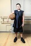 мальчик баскетбола Стоковое Изображение RF