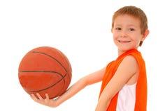 мальчик баскетбола Стоковое Фото