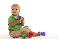 мальчик блока Стоковые Изображения RF