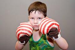 мальчик бокса Стоковые Изображения RF
