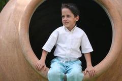 мальчик бочонка Стоковое Изображение RF