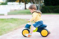 мальчик велосипеда Стоковые Изображения RF
