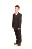 Мальчик в официальном dresscode Стоковая Фотография