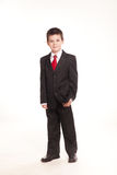 Мальчик в официальном dresscode Стоковая Фотография RF