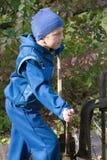 Мальчик в sportswear Стоковое Изображение RF