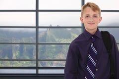 мальчик Гавайские островы Стоковое Изображение