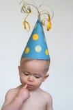 мальчик дня рождения Стоковая Фотография