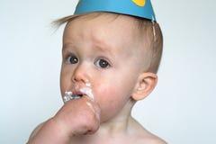 мальчик дня рождения Стоковые Фото