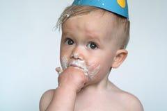 мальчик дня рождения Стоковое Изображение RF