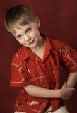 мальчик довольно Стоковое фото RF