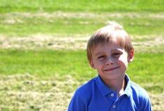 мальчик золотистый Стоковое фото RF