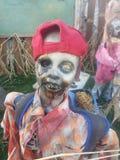 Мальчик зомби Стоковые Изображения