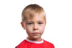 мальчик изолировал детенышей портрета Стоковые Изображения