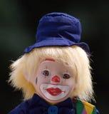 Мальчик клоуна Стоковые Фото