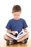 мальчик книги Стоковое Изображение RF