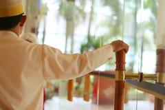 мальчик колокола стоковое изображение rf
