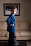Мальчик конькобежца Стоковые Изображения RF