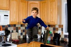 Мальчик конькобежца Стоковое Фото