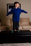 Мальчик конькобежца Стоковое фото RF