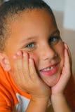 мальчик красивый Стоковое фото RF