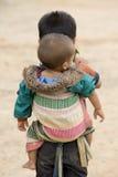 мальчик Лаос Стоковое фото RF