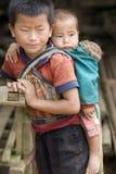 мальчик Лаос Стоковые Фото