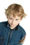 мальчик лукавый Стоковые Изображения