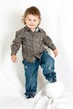 мальчик малый Стоковое фото RF