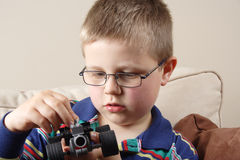 мальчик малый Стоковое Изображение RF