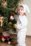 мальчик меньший новый год s Стоковое Фото