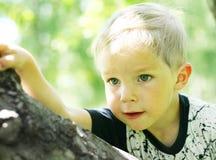мальчик меньший портрет стоковое изображение