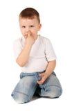мальчик милый немногая Стоковое Изображение RF