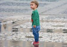 мальчик милый стоковые фотографии rf
