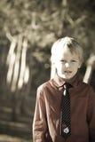 мальчик милый Стоковая Фотография