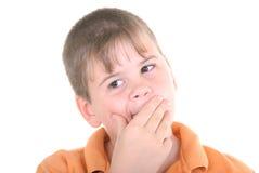 мальчик немногая заботливое Стоковые Фотографии RF