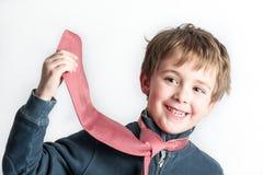мальчик немногая играя связь Стоковое Изображение RF