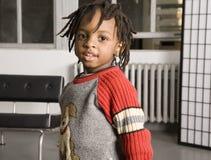 мальчик немногая сладостное Стоковое Изображение