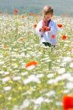 мальчик одевает традиционное Стоковые Фото
