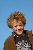 мальчик озорной стоковая фотография rf