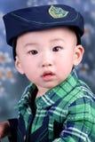 мальчик осени Стоковые Фотографии RF