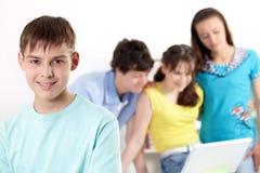 мальчик подростковый Стоковая Фотография RF