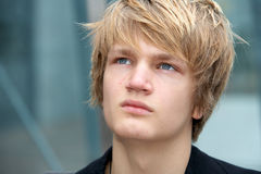 мальчик подростковый Стоковое фото RF