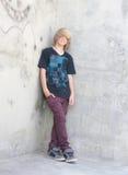 мальчик предназначенный для подростков Стоковые Изображения