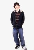 мальчик предназначенный для подростков стоковое изображение rf