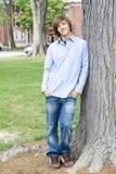 мальчик предназначенный для подростков Стоковое Фото