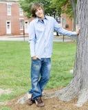 мальчик предназначенный для подростков Стоковые Фотографии RF