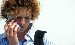 мальчик предназначенный для подростков стоковая фотография