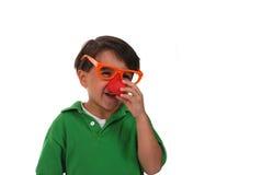 мальчик придурковатый Стоковое фото RF