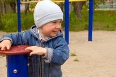мальчик радостный Стоковые Фотографии RF