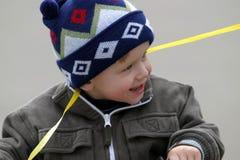 мальчик радостный Стоковая Фотография